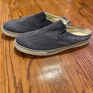 LL Bean Shoes Sunwashed Canvas Slip-ons